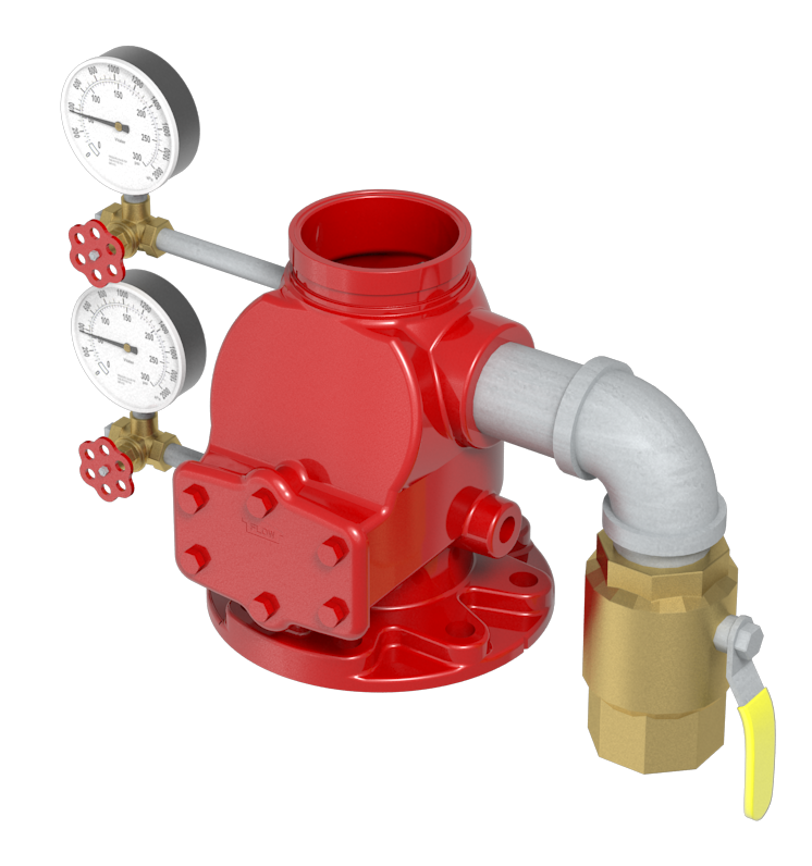 Wet Alarm Valve with Trim